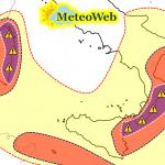 """Allerta Meteo, la """"Tempesta di Santa Crispina"""" sta per abbattersi al Sud: rischio alluvioni in Sardegna, Sicilia, Calabria e Puglia"""