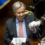 """Clima, il segretario generale dell'ONU Antonio Guterres: """"Piena fiducia nella leadership dell'Italia"""" per la COP26 [FOTO]"""