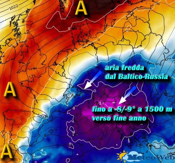 Meteo Rimini: Anticiclone in rinforzo, clima mite e prevalentemente soleggiato