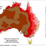 Meteo, ondata di calore estrema in Australia: +50°C a Nullarbor, nuova giornata più calda di sempre e l'asfalto si scioglie [MAPPE]