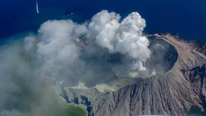 eruzione nuova zelanda