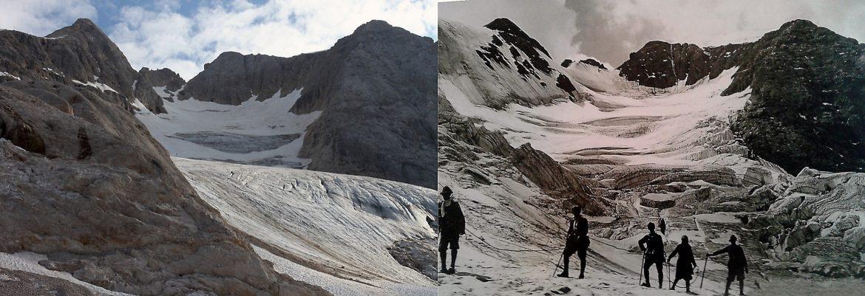 ghiacciaio marmolada studio cnr
