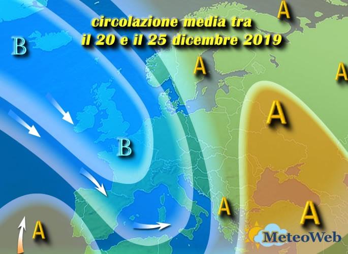 previsioni meteo 20 25 Dicembre
