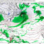 Allerta Meteo, un'altra ciclogenesi esplosiva nell'Atlantico: forte tempesta di vento e grandi onde verso Groenlandia e Islanda nel weekend [MAPPE]