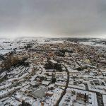 Almansa, lo straordinario spettacolo della NEVE sulle colline della Spagna meridionale [FOTO e VIDEO]