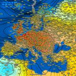 Meteo, Anticiclone eccezionale nel cuore d'Europa: 1050hPa tra Galles e Benelux, 1045hPa al Nord Italia. A rischio i record di alta pressione della storia [MAPPE e DATI]