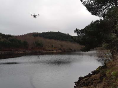 indra drone fiumi