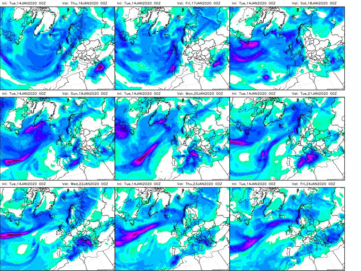 previsioni meteo prossimi giorni pioggia neve