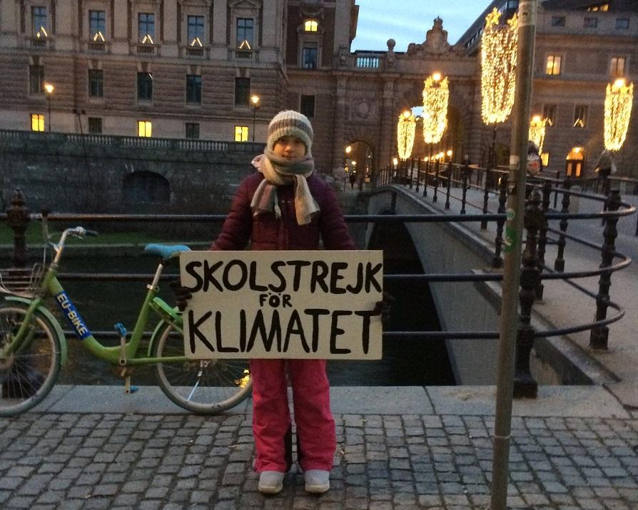 sciopero clima Greta Thunberg