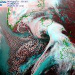 """Meteo, nuovo """"ciclone bomba"""" dopo la tempesta Dennis: ciclogenesi esplosiva in corso nel Nord Atlantico [MAPPE]"""