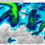 """Meteo, il Nord Atlantico """"sforna"""" un altro mostro di maltempo: ciclogenesi esplosiva imminente, nuova tempesta di vento sull'Europa [MAPPE]"""