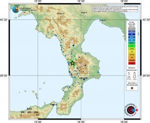 terremoto cosenza calabria oggi