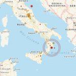 Terremoto Calabria: diverse scosse nella costa catanzarese [MAPPE e DATI]
