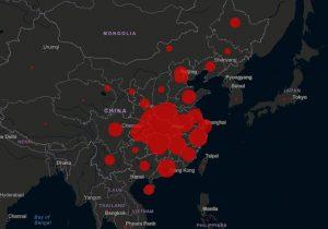 coronavirus mappa contagi