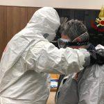 Coronavirus: i vigili del fuoco del comando di Messina si preparano ad affrontare interventi specifici [FOTO]