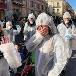 Il Coronavirus è la maschera più gettonata del Carnevale di Acireale: come esorcizzare la paura [FOTO]