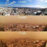 """Meteo, apocalittica tempesta di sabbia getta le Canarie nel caos: la """"Calima"""" dal Sahara paralizza l'arcipelago e alimenta grossi incendi [FOTO e VIDEO]"""
