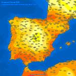 Meteo, inizio di Febbraio shock in Europa: è primavera con +26°C in Spagna, +22°C nel Mediterraneo e nei Balcani [DATI e MAPPE]