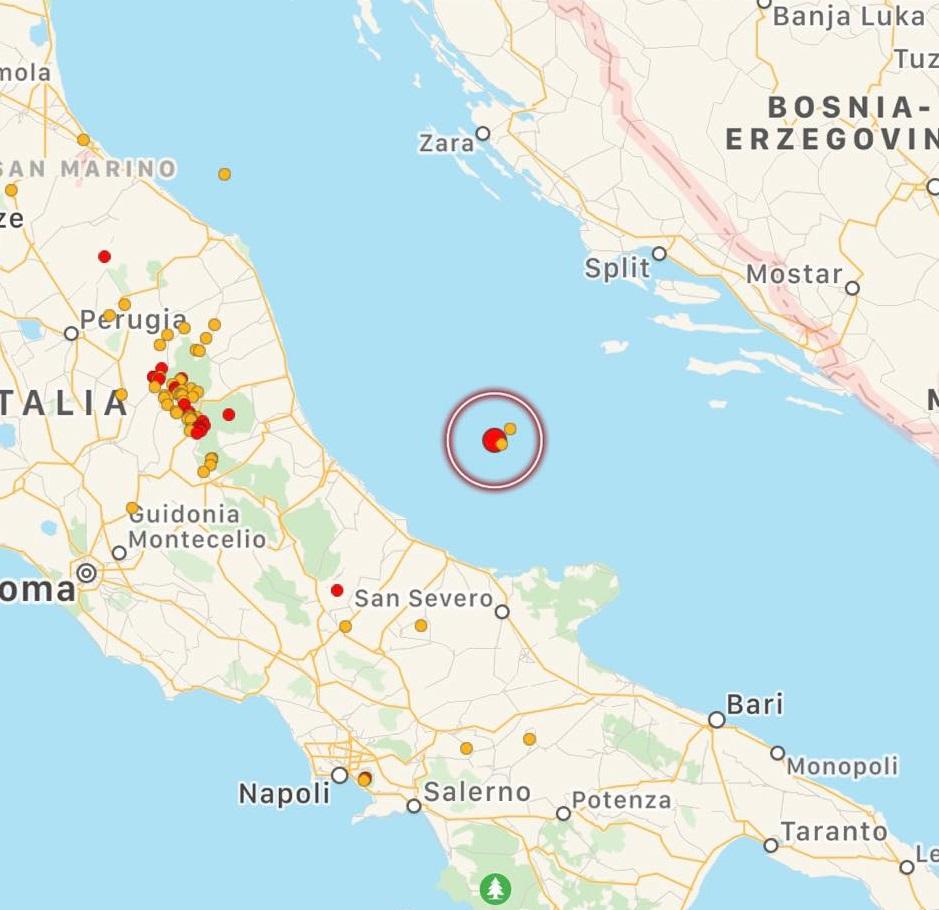 terremoto adriatico