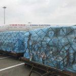 Coronavirus: la Cina invia un'equipe medica in Italia e materiali sanitari d'emergenza [FOTO]