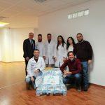 Emergenza Coronavirus, spin-off Unical invia 40 kg di gel igienizzante mani a Codogno