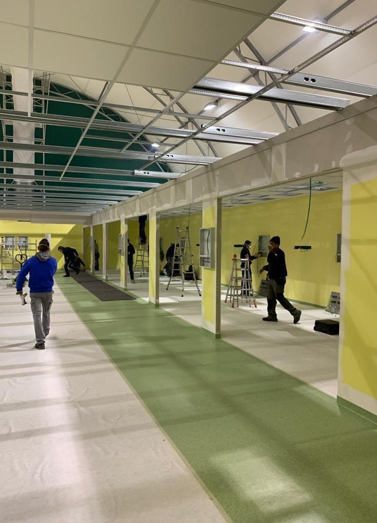 San Raffaele nuova terapia intensiva campo
