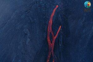 Stromboli in eruzione (foto T. Ricci)