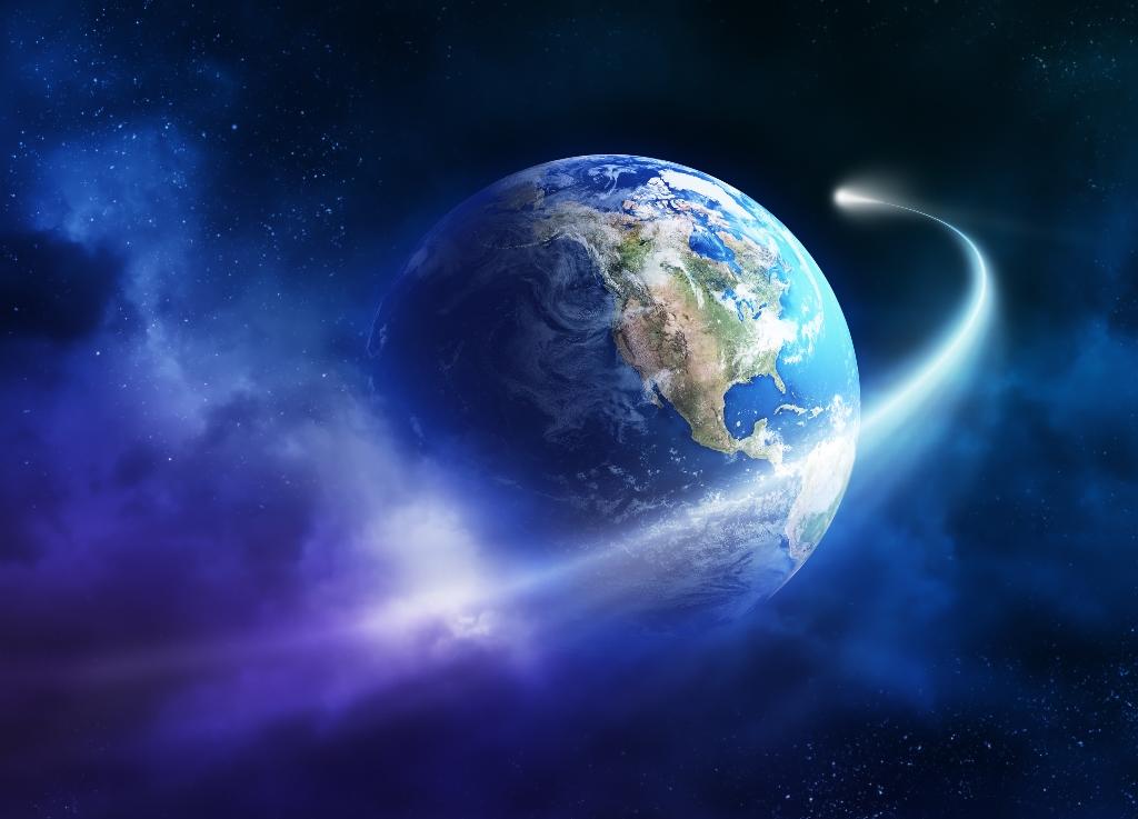 cometa terra