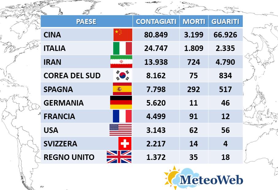 coronavirus italia 15 marzo