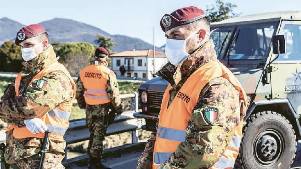 Coronavirus A Salerno Richiesto L Intervento Dell Esercito Meteoweb