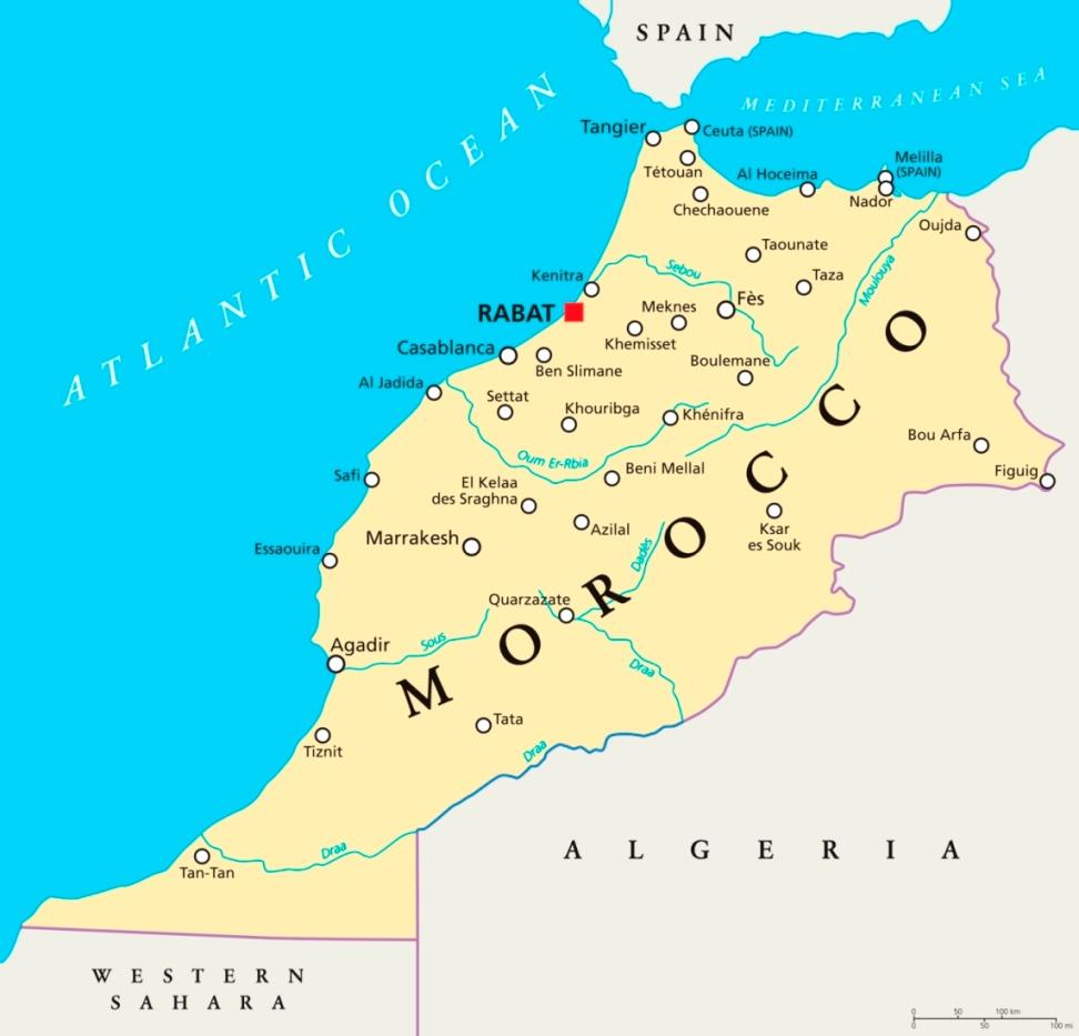 Agadir Marocco Cartina.Coronavirus 1ª Vittima In Marocco Era Tornata Dall Italia Rabat Chiude Le Frontiere Comitiva Italiana Con 3 Bimbi Bloccata A Marrakech Meteoweb