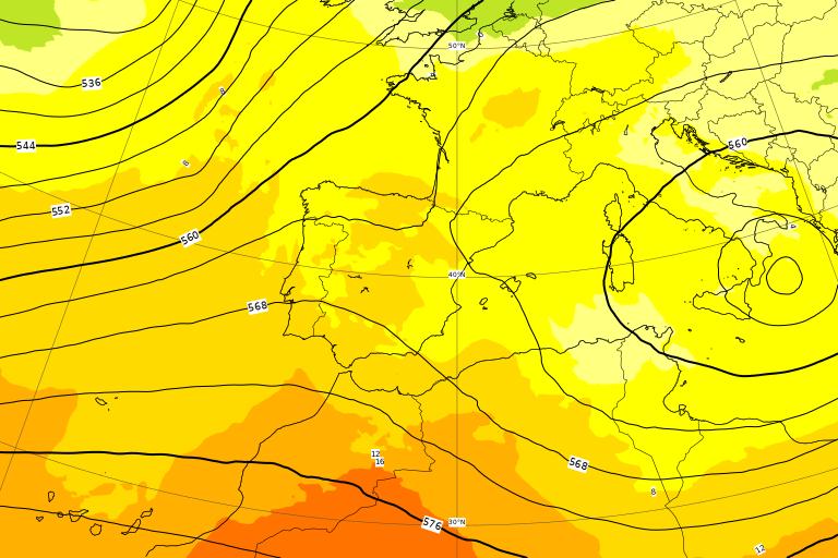 Il ciclone ancora stazionario sul mar Jonio nel prossimo weekend, tra Sabato 4 e Domenica 5 Aprile