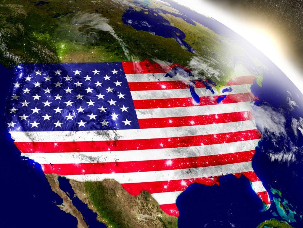 stati uniti d'america mappa usa