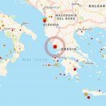 Terremoto in Grecia, paura sulla costa dello Jonio tra Igoumenitsa e Corfù [MAPPE e DATI]