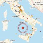 Terremoto, scossa magnitudo 4.1 nel mar Tirreno: epicentro tra Napoli e Palermo, continua lo sprofondamento dell'antico oceano della Tetide [MAPPE e DETTAGLI]