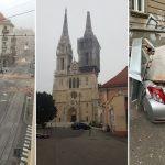 Terremoto Croazia, oggi a Zagabria il sisma più forte da 140 anni: FOTO e VIDEO dal disastro nella Capitale, Ospedale devastato e Parlamento danneggiato. Allarme Neve, Gelo e Coronavirus