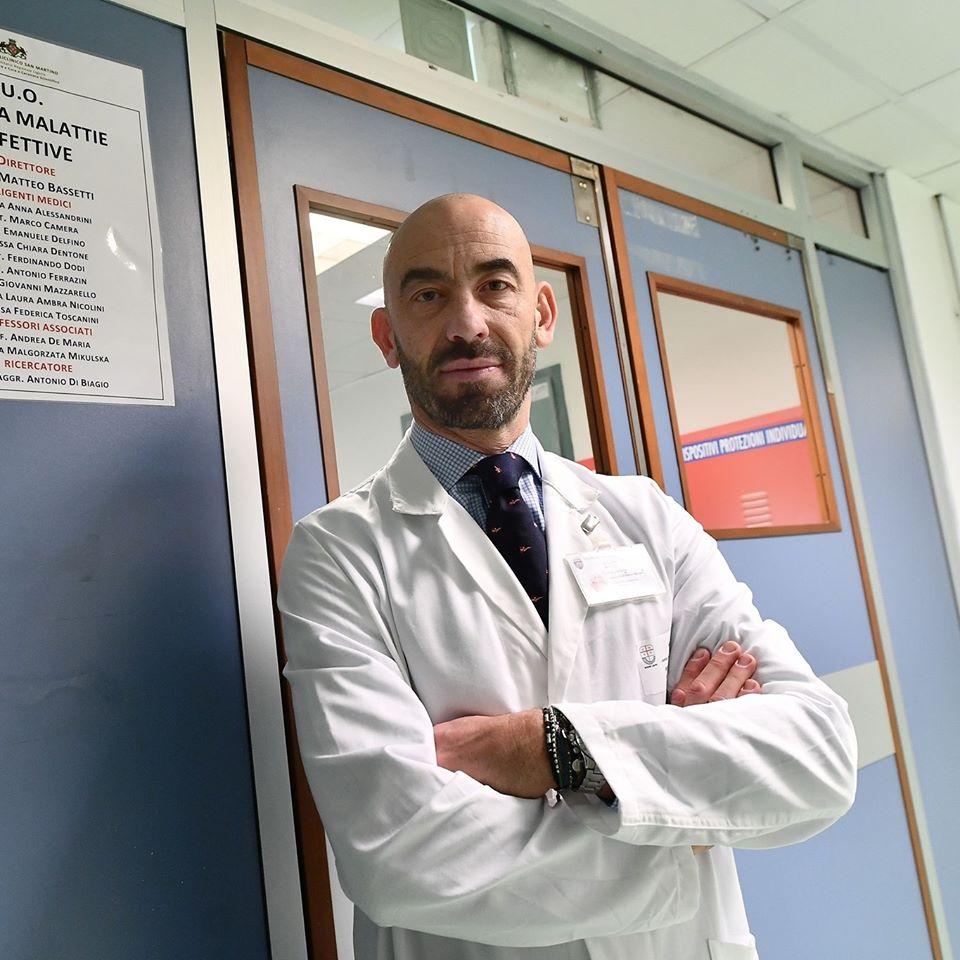 Matteo Bassetti infettivologo