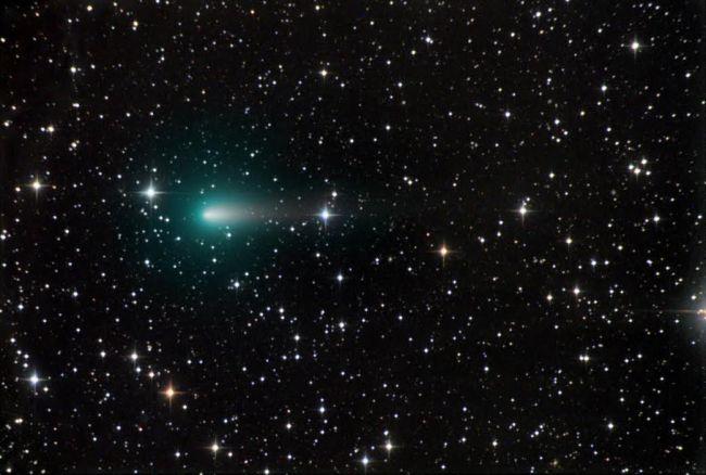 La cometa ATLAS il 9 aprile. Credit: Chris Schur