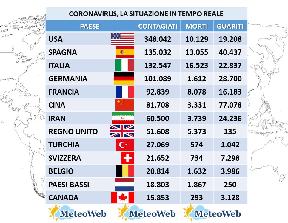 coronavirus 6 aprile