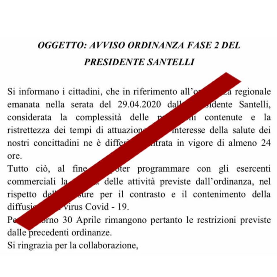 fake news Jole Santelli