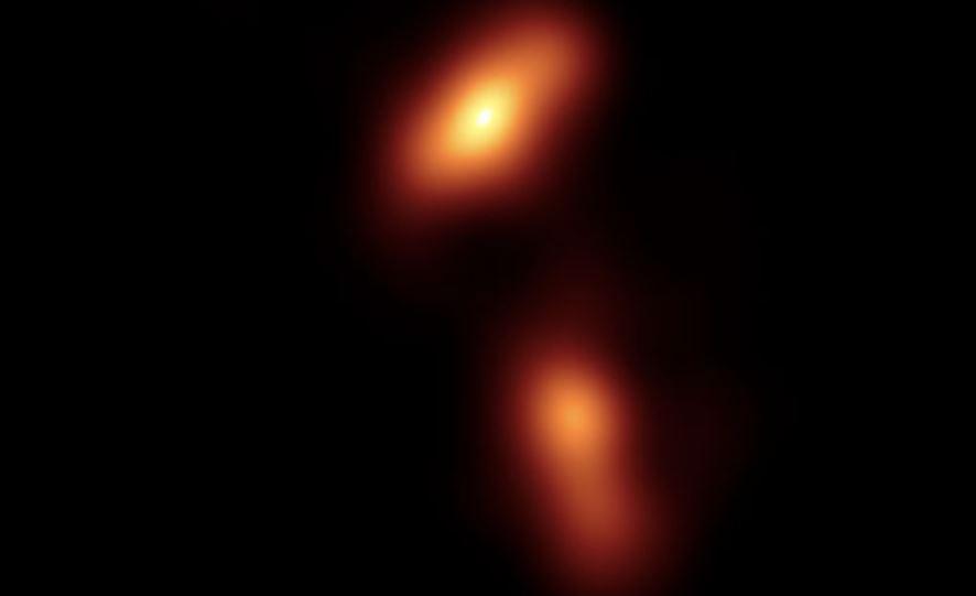 getto relativistico buco nero supermassiccio
