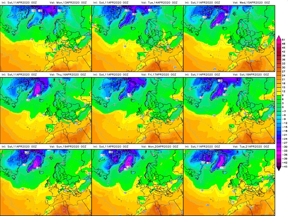 previsioni meteo aeronautica militare