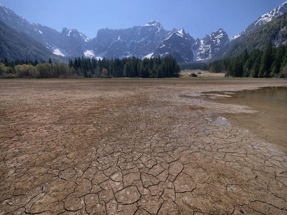siccità laghi fusine