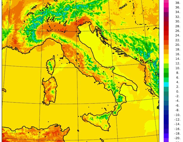 temperature italia 6 aprile 2020