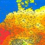 Meteo, esplode il super caldo in Europa: punte di +27°C in Francia, picchi ancora più alti nel weekend di Pasqua [DATI]
