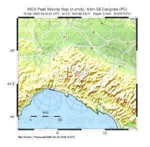 terremoto oggi liguria emilia romagna lombardia