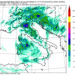 Allerta Meteo: violento ciclone sul Tirreno, forte maltempo fino a Giovedì con forti temporali e grandinate [MAPPE]