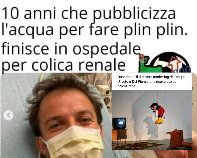 Del Piero Uliveto colica renale
