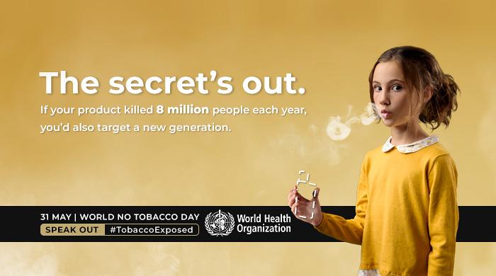 Giornata mondiale senza tabacco 2020