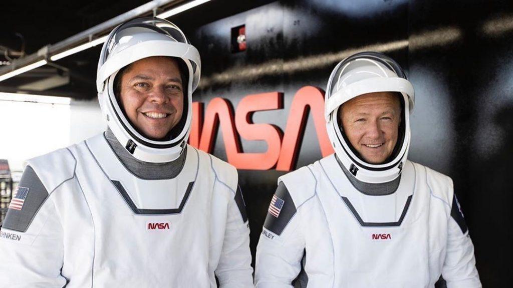 astronauti Robert Behnken Doug Hurley